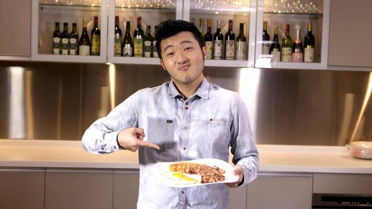 鹹牛肉薯餅 {by 陳詠謙}