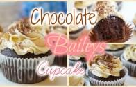 Chocolate Baileys Cupcake | 朱古力百利甜酒杯子蛋糕