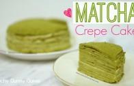 Matcha Mille Crepes Cake⎜抹茶千層蛋糕 (可麗餅蛋糕)