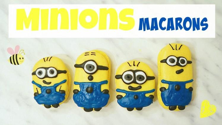 Minions Macarons⎜迷你兵團(小小兵)馬卡龍