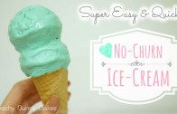 Tiffany Blue Ice-Cream [No machine required]⎜超簡單蒂芙尼藍雪糕 [不用機器]