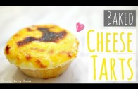 Baked Cheese Tarts⎜日式芝士撻